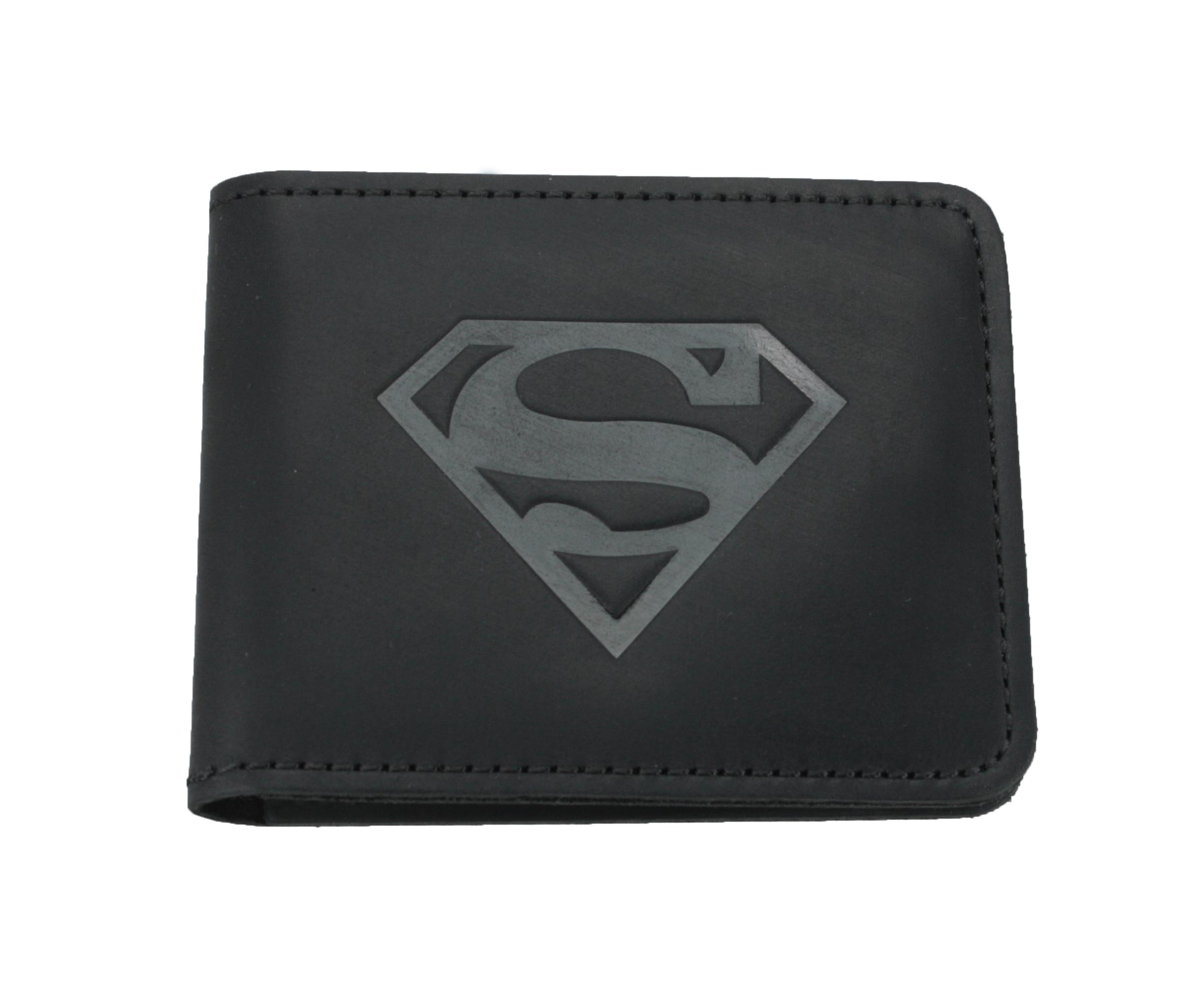 2cfc9c16023c Кожаный кошелек супермен купить в Украине. Интернет-магазин кожаных ...