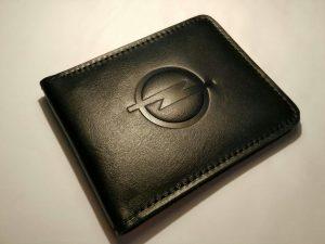 Визитница (Картхолдер) с логотипом авто opel