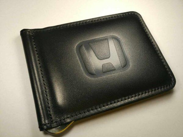 Зажим для денег с логотипом авто Honda