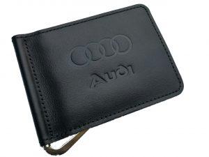Зажим для денег с логотипом авто Audi