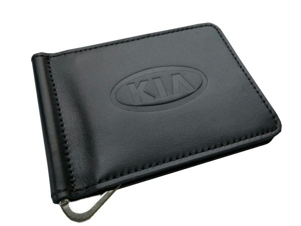 Зажим для денег с логотипом авто Kia