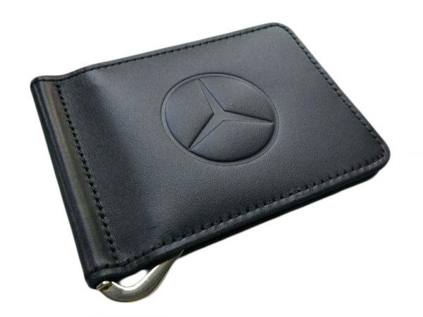 Зажим для денег с логотипом авто Mercedes