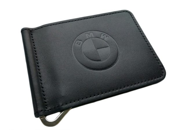 Зажим для денег с логотипом авто BMW