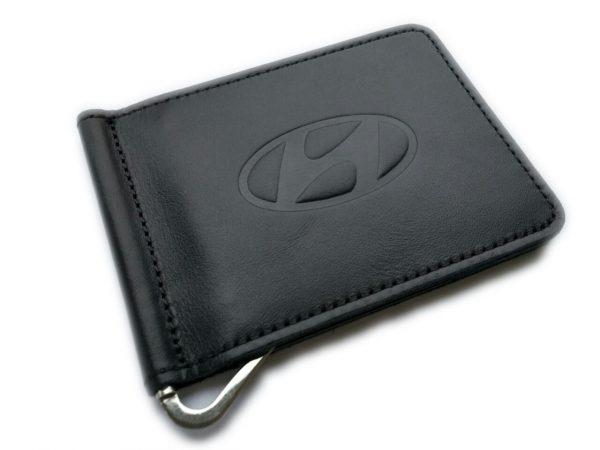 Зажим для денег с логотипом авто Hyundai