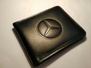 Визитница (Картхолдер) с логотипом авто Mercedes