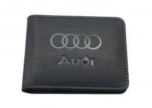 Кошелек кожаный Audi