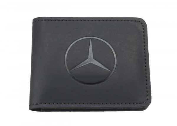 Кошелек кожаный Mercedes