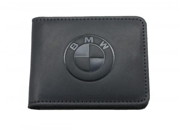 Кошелек кожаный BMW