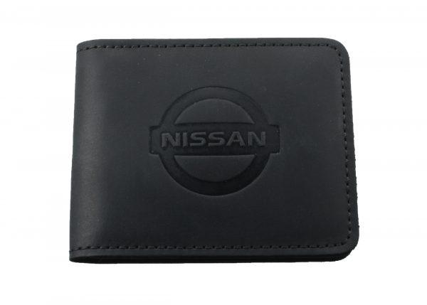 Кожаный кошелек Nissan