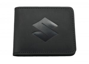 Кожаный кошелек Suzuki